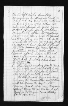 Page 2 of report from 18th Battalion to 4th Canadian Brigade regarding German Trench Raid on night of May 27/28, 1917.