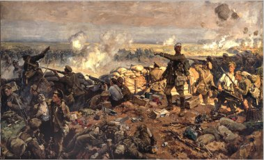The Second Battle of Ypres, 22 April to 25 May 1915 by Richard Jack