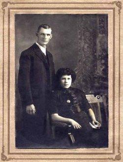 Photo of Henry Herbert Vollick and his wife. Via CVWM.