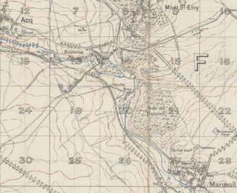 1916 Map