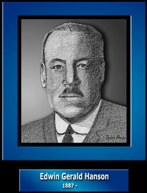 Lieutenant Colonel Edwin Gerald Hanson, D.S.O., M.I.D.