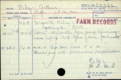 Veterans Death Card