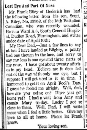 The Wingham Advance, 1918-05-09, Page 1
