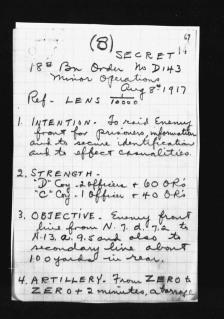 War Diary August 1917 (18)