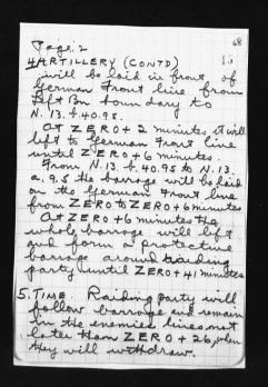War Diary August 1917 (19)