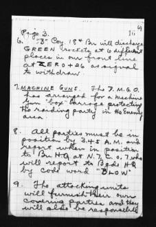 War Diary August 1917 (20)