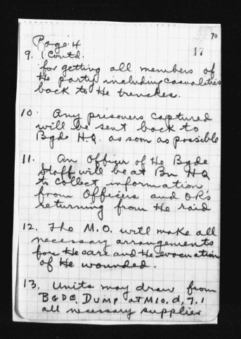 War Diary August 1917 (21)