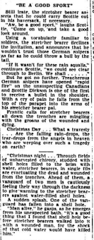 ot a Bullet for His Gift Rememberence of Christmas Day 1915 Border Cities Star Part 4
