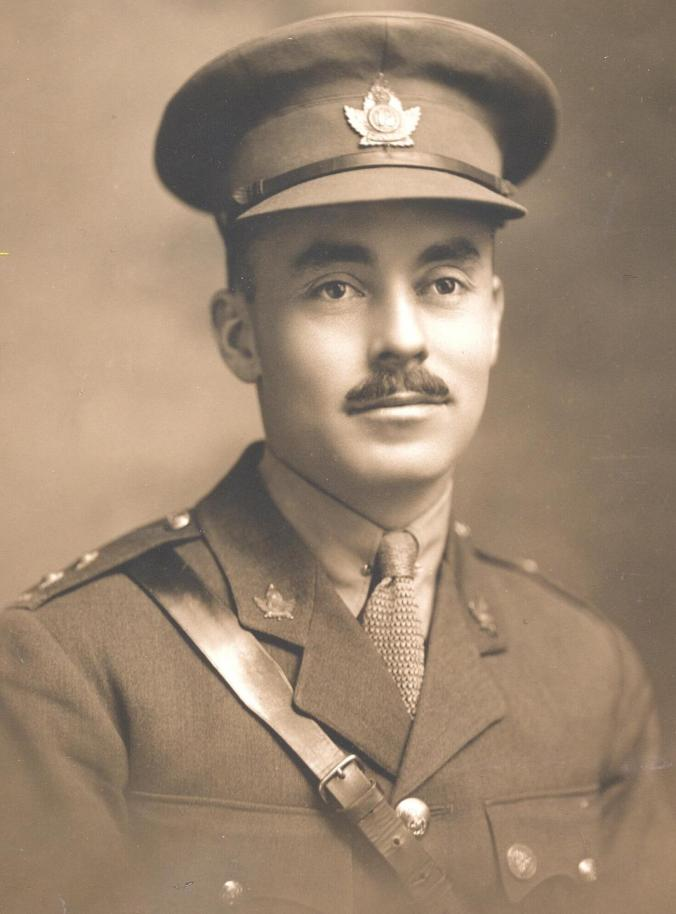 Lt Ernest Daniel Rowe 18th Battalion