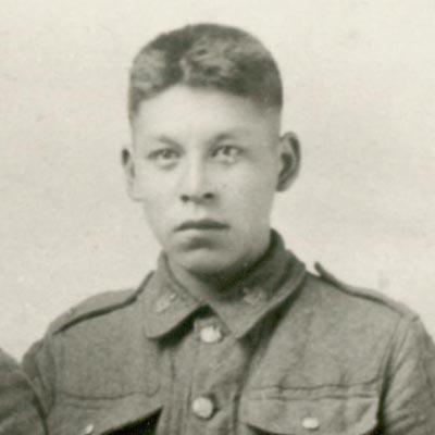 Private Wilfred Laurier Elliott.
