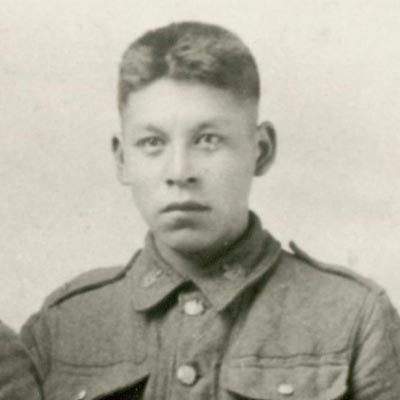 Private Wilfred Laurier Elliott.