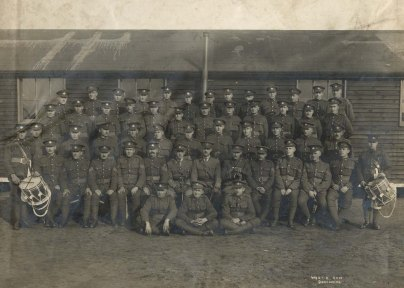 No. 13 Platoon, D Company, 160th Battalion C.E.F. Source: Bruce Remembers