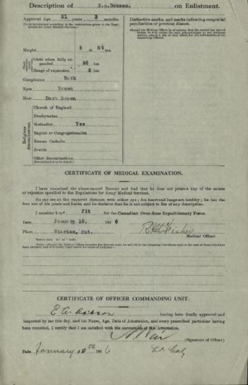 Attestation Paper Dobson, Earl Alvin 651307 Page 2