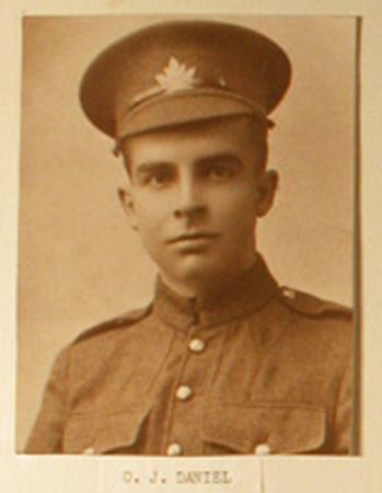 Daniels, Orwell James via Bruce Remembers RCL Kincardine