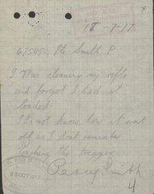 Smith Percy Percy Smiths Witness Statement re accident