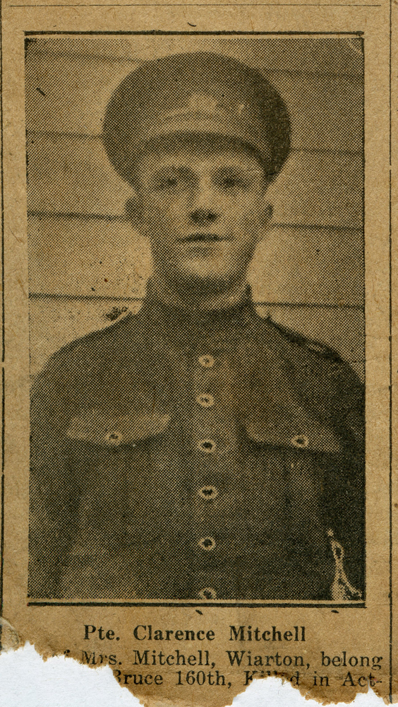 A2015.121.025 - AGC-026_Pte Mitchell_Wiarton_Killed in Action_Canadian Echo_Oct 09 - 1918 1000