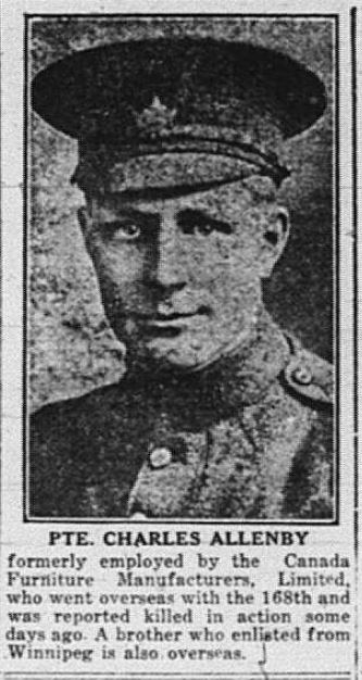 Private Charles Allenby 675192