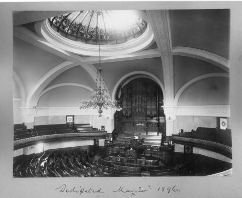 Dundas Street Centre Methodist Church, Interior View, London, Ontario