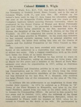 Source: History of the Wigle Family and Their Descendants via Southwestern Digital Archive accessed via https://core.ac.uk/download/pdf/80560365.pdf