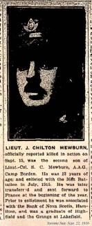 Lieut. J.C. Mewburn.