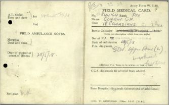 Field Medical Card 1