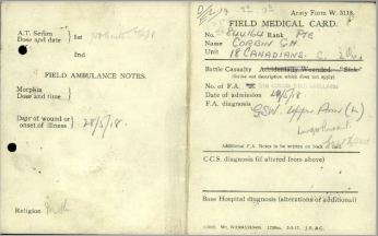 Field Medical Card 1