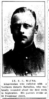 Source: Kingston Daily Standard. September 29, 1916. Submitted by Iris Russak via Peter Gower.