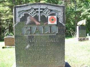 53409 Henry Edmond HALL (30th Wellington) Harriston Cemetery 1880-1958