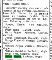 Clinton News Record November 5 1914 Page 1 Bleach 53779