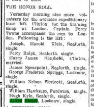 Clinton News Record November 5 1914 Page 1 Bleach 53779