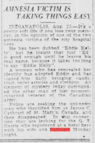 South Bend News-Times., August 24, 1920, Morning Edition, Page 8, Image 8. Courtesty of Kristen Den Hartog.