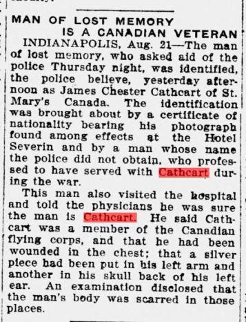 The Richmond Palladium and Sun-Telegram., August 21, 1920, Page PAGE TWO, Image 2. Courtesty of Kristen Den Hartog.