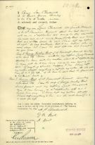 Letter re will from June Chadwick original