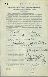 Repatriation Form Page 1