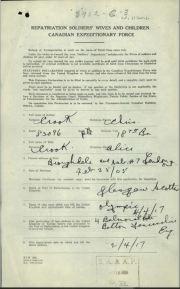 Repatriation Form Page 1