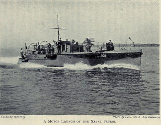 A Motor Launch.