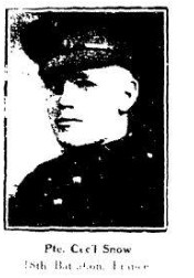 Source: Dawn Heuston at the 18th Battalion Facebook Group. Blenheim News Tribune, 1917.