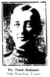 Source: Dawn Heuston at the 18th Battalion Facebook Group. Blenheim News Tribune, 1917.