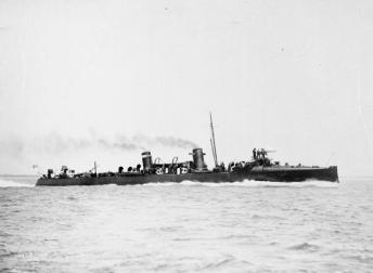 A Torpedo Boat Destroyer, H.M.S. Ardent.