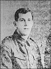 Private F. Hodson, circa 1914-1919.