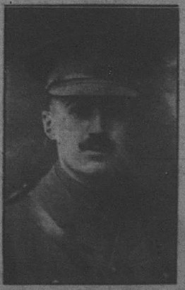 Lt. Jack McIntosh. Galt Daily Reporter. May 19, 1915. Page 1.