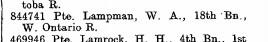 The London Gazette. No. 31173. February 7, 1919. Page 2134.