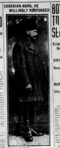 Canadian Born He Willingly Responded Part 1 London Advertiser February 27 1915 Page 1