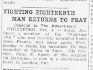 Fighting Eighteenth Man Returns to Fray London Advertiser Page 13