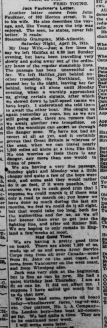 18th Men Had Spendlid Time in Trip Across Atlantic Part 3 London Advertiser May 13 1915 Page 11