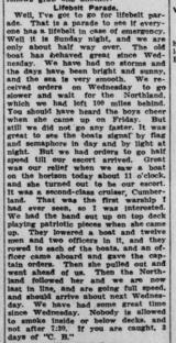 Atlantic Voyage Greatly Enjoyed Part 3 London Advertiser May 21 1915 Page 3