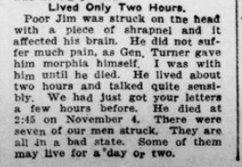 Brother Killed Now Husband Wounded Part 4 London Advertiser December 3 1915 Page 1