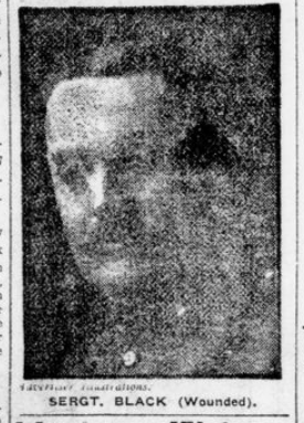Brothers in Law in Ranks of 18th Who Have Fallen Sergt Black London Advertiser December 3 1915 Page 1