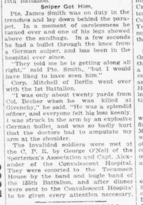 Invalided Soldiers Medals Stolen as He Dozes in Train Part 2 London Advertiser March 31 1916 Page 4