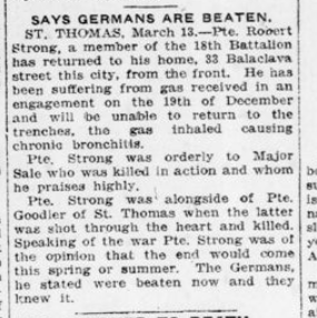 Says Germas Are Beaten London Advertiser March 14 1916 Page 5